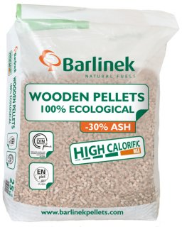 Pellet ECOPELLET z Barlinka, 6 mm 15 kg